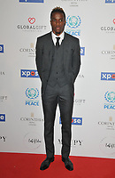 Wilfried Zaha at the Football For Peace Initiative Dinner by Global Gift Foundation, Corinthia Hotel, Whitehall Place, London, England, UK, on Monday 08th April 2019.<br /> CAP/CAN<br /> ©CAN/Capital Pictures