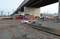 New Haven Rail Yard, Independent Wheel True Facility. CT-DOT Project # 0300-0139, New Haven CT..Progress Photograph of Construction Progress Photo Shoot 8 on 14 February 2012.Image No. 01