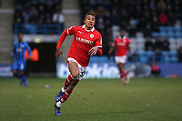 Jacob Brown of Barnsley during Gillingham vs Barnsley, Sky Bet EFL League 1 Football at The Medway Priestfield Stadium on 9th February 2019