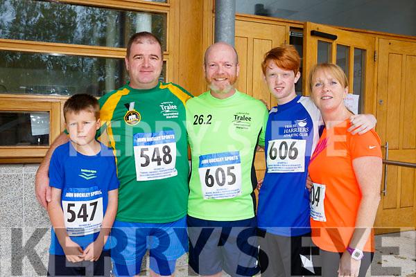 At the CBS, The Green Fun Run on Sunday were Lee Wharton, Randel Wharton,  Brian White, Tony White and Lorna White