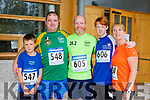 At the CBS, The Green Fun Run on Sunday were Lee Wharton, Randel Wharton,  Brian White, Tony White and Lorna White
