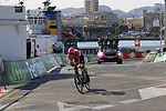 Pierre Rolland (FRA) EF-Drapac-Cannondale during Stage 1 of the La Vuelta 2018, an individual time trial of 8km running around Malaga city centre, Spain. 25th August 2018.<br /> Picture: Eoin Clarke | Cyclefile<br /> <br /> <br /> All photos usage must carry mandatory copyright credit (© Cyclefile | Eoin Clarke)