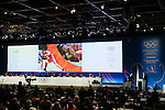 Nenad Laldvic, <br /> SEPTEMBER 8, 2013 : <br /> The fianl presentation of Wrestling during the 125th International Olympic Committee (IOC) session in Buenos Aires Argentina, on Saturday September 8, 2013. <br /> (Photo by YUTAKA/AFLO SPORT)