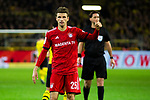 10.11.2018, Signal Iduna Park, Dortmund, GER, 1.FBL, Borussia Dortmund vs FC Bayern M&uuml;nchen, DFL REGULATIONS PROHIBIT ANY USE OF PHOTOGRAPHS AS IMAGE SEQUENCES AND/OR QUASI-VIDEO<br /> <br /> im Bild | picture shows:<br /> Thomas Mueller (Bayern #25) bedankt sich f&uuml;r eine gute Vorarbeit, <br /> <br /> Foto &copy; nordphoto / Rauch
