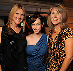 From left: Mindy Potor, Megan Light and Cathy Beathard at the second annual Texas Children's Cancer Center Casino Night Cruise in Kemah Friday Oct. 08, 2010. (Dave Rossman/For the Chronicle)