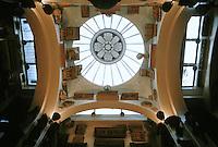 Sir John Soanes: Sir John Soane's Museum, London. Skylight in Museum.