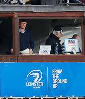 12th January 2020; RDS Arena, Dublin, Leinster, Ireland; Heineken Champions Cup Rugby, Leinster versus Lyon Olympique Universitaire; Leo Cullen, Leinster head coach watches his team - Editorial Use