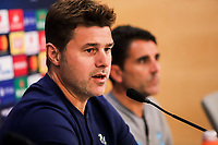 Head Coach of Tottenham Hotspur, Mauricio Pochettino attends a press conference ahead of the UEFA Champions League match against Olympiacos FC, in Karaiskaki Stadium in Piraeus, Greece. Tuesday 17 September 2019