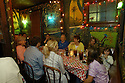 A family enjoys a nice dinner at Jacques-Imo's in New Orleans, Saturday, January 29, 2005..(CHERYL GERBER PHOTO).