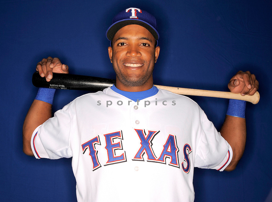 JOSE VALLEJO, of the Texas Rangers, during photo day of spring training and the Ranger's training camp in Surprise, Arizona on February 24, 2009.