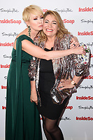 Lysette Anthony &amp; Nicole Barber Lane at the Inside Soap Awards 2017 held at the Hippodrome, Leicester Square, London, UK. <br /> 06 November  2017<br /> Picture: Steve Vas/Featureflash/SilverHub 0208 004 5359 sales@silverhubmedia.com