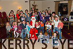Santa came to the Kerins  O'Rahilly  Children's Christmas party at the Clubhouse on Sunday