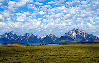 Grand Tetons mountain range, Jackson, Wyoming, National Park, USA