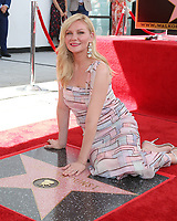 LOS ANGELES - AUG 29:  Kirsten Dunst at the Kirsten Dunst Star Ceremony on the Hollywood Walk of Fame on August 29, 2019 in Los Angeles, CA