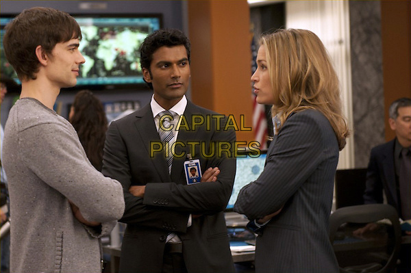 CHRISTOPHER GORHAM, SENDHIL RAMAMURTHY & PIPER PERABO.in Covert Affairs (Season 1).*Filmstill - Editorial Use Only*.CAP/FB.Supplied by Capital Pictures.