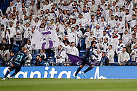 23rd November 2019; Estadio Santiago Bernabeu, Madrid, Spain; La Liga Football, Real Madrid versus Real Sociedad; Willian Jose (Real Sociedad)  celebrates his goal which made it 0-1  - Editorial Use
