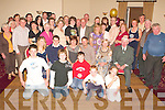 Silver Celebrations - Michael & Rita Crean, from Camp, seated centre having a wonderful time with family and friends at their 25th Wedding Anniversary party held in The Kerins O'Rahilly's GAA Club on Sunday night.............................................................. ............   Copyright Kerry's Eye 2008