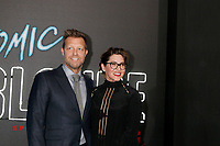 """LOS ANGELES - JUL 24:  David Leitch, Kelly McCormick_ at the """"Atomic Blonde"""" Los Angeles Premiere at The Theatre at Ace Hotel on July 24, 2017 in Los Angeles, CA"""