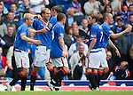 Steven Naismith celebrates his goal for Rangers