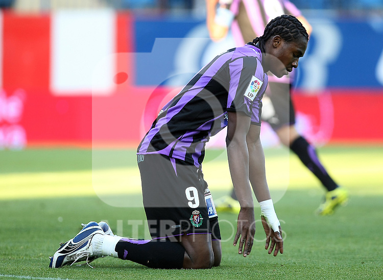 Real Valladolid's Manucho during La Liga match. May 05, 2010. (ALTERPHOTOS/Acero)