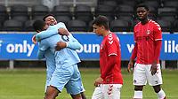Ali Koiki celebrates scoring Burnley U23's opening goal during Charlton Athletic Under-23 vs Burnley Under-23, Professional Development League Football at Princes Park on 9th September 2019