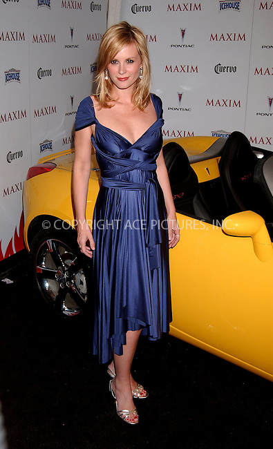 WWW.ACEPIXS.COM . . . . .....May 16, 2007. New York City,....Actress Bonnie Somerville attends Maxim's 8th Annual Hot 100 Party held at the Gansevoort Hotel...  ....Please byline: Kristin Callahan - ACEPIXS.COM..... *** ***..Ace Pictures, Inc:  ..Philip Vaughan (646) 769 0430..e-mail: info@acepixs.com..web: http://www.acepixs.com