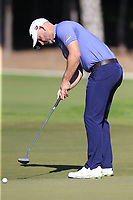 Paul Waring (ENG) putts on the 17th green during Friday's Round 2 of the 2018 Turkish Airlines Open hosted by Regnum Carya Golf &amp; Spa Resort, Antalya, Turkey. 2nd November 2018.<br /> Picture: Eoin Clarke | Golffile<br /> <br /> <br /> All photos usage must carry mandatory copyright credit (&copy; Golffile | Eoin Clarke)
