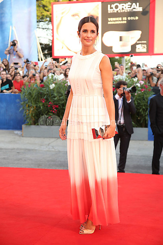 Livia Giuggioli attend the premiere of 'Nocturnal Animals' during the 73rd Venice Film Festival at on September 2, 2016 in Venice, Italy<br /> CAP/GOL<br /> &copy;GOL/Capital Pictures /MediaPunch ***NORTH AND SOUTH AMERICAS ONLY***