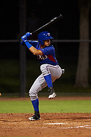 AZL Rangers Angel Aponte (78) at bat during an Arizona League game against the AZL Dodgers Mota at Camelback Ranch on June 18, 2019 in Glendale, Arizona. AZL Dodgers Mota defeated AZL Rangers 13-4. (Zachary Lucy/Four Seam Images)