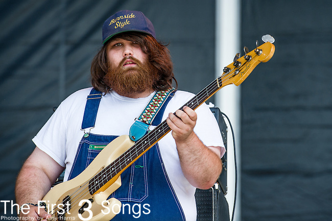Zac Cockrell of Alabama Shakes performs during Day 2 of the 2013 Firefly Music Festival in Dover, Delaware.