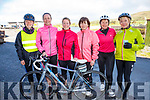 Taking part in the Tour of South Kerry Cycle on Sunday in aid of Sive Rowing Club were l-r; Tara Whittington, Sharon O'Leary, Olivia O'Leary, Jean Harrison, Laoise Egan & Teresa O'Sullivan.