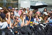 Berkeley, CA - Sunday August 28, 2016 The Cal Bears Field Hockey Team vs the Northeastern Huskies at the Underhill Field in Berkeley California. Final Score, Cal Bears 2, Northwestern Wildcats 3.