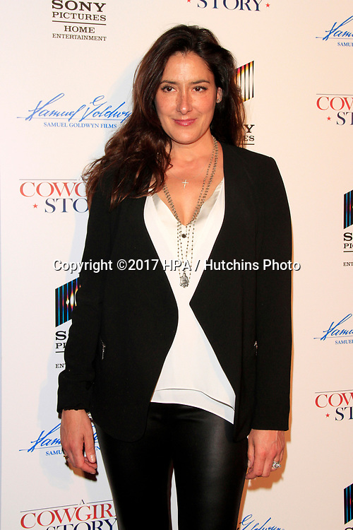 "LOS ANGELES - APR 13:  Alicia Coppola at the ""A Cowgirl's Story"" Premiere at the Pacific Theatres at The Grove on April 13, 2017 in Los Angeles, CA"