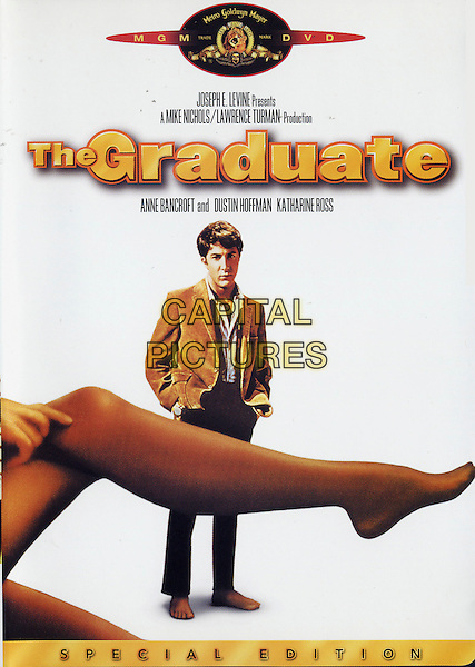 DVD COVER ART.in The Graduate.*Editorial Use Only*.Ref: FB.www.capitalpictures.com.sales@capitalpictures.com.Supplied by Capital Pictures.