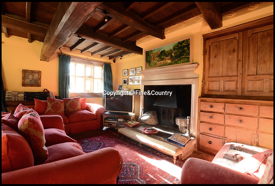 BNPS.co.uk (01202) 558833<br /> Pic :   Fine&Country/BNPS<br /> <br /> Cathy come home, to the real Wuthering Heights...<br /> <br /> A historic country home that was a regular haunt of the Bronte family and the inspiration for Emily Bronte's iconic novel is on the market for £1.25m.<br /> <br /> Ponden Hall, near Haworth in West Yorkshire, has fascinating and well-documented connections to the literary family.<br /> <br /> At the time it had 'the finest library in West Yorkshire' which was used by the Brontes and Emily is said to have based parts of the Lintons' Thrushcross Grange and Heathcliffe's farmhouse in Wuthering Heights (1847) on the Grade II* listed home.<br /> <br /> The property, which is currently run as a B&B, is now on the market with Fine & Country Leeds.