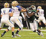 Tulane falls to Tulsa, 31-3, in football action at the Louisiana Superdome.