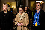 Supreme Court Justice Ruth Bader Ginsberg arrives for President Barack Obama's State of the Union address in the U.S. Capitol on Tuesday, January 24, 2012 in Washington, DC.