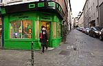 BRUSSELS - BELGIUM - 08 JANUARY 2012 -- Marolles the bohemian city part of Brussels. -- Design - Rue Haute. -- PHOTO: Juha ROININEN /  EUP-IMAGES