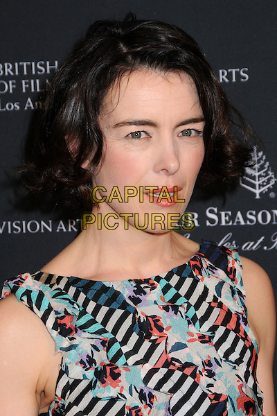 OLIVIA WILLIAMS.17th Annual BAFTA Los Angeles Awards Season Tea Party held at the Four Seasons Hotel, Beverly Hills, California, USA, 15th January 2011..portrait headshot beauty cream green black grey gray print sleeveless .CAP/ADM/BP.©Byron Purvis/AdMedia/Capital Pictures.