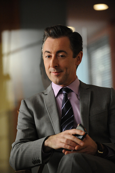 Alan Cumming is pictured during the production of THE GOOD WIFE, taken in New York on Friday, January 29, 2010..Photo: David M. Russell/CBS.©2010 CBS Broadcasting Inc. All Rights Reserved.