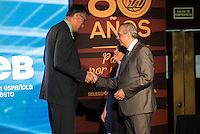 Luis Miguel Santillana during the 80th Aniversary of the National Basketball Team at Melia Castilla Hotel, Spain, September 01, 2015. <br /> (ALTERPHOTOS/BorjaB.Hojas) / NortePhoto.Com