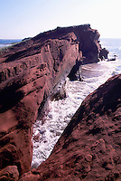 Ile de Grande-Entrée, Iles de la Madeleine, Quebec, Canada - Coastline at Bassin aux Huitres along Gulf of St. Lawrence - (Oyster Basin, Grand Entry Island, Magdalen Islands)