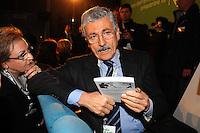 Massimo D'Alema.Roma 20/1/2012 Nuova Fiera Di Roma.Assemblea Nazionale PD Partito Democratico.Foto Insidefoto Andrea Staccioli