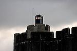 141209 Tardis Caerphilly Castle