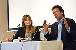 Jemima Khan and Imran Khan at Blenheim Palace during the Woodstock Literary Festival, Oxfordshire. 18 September 2011...PHOTO COPYRIGHT GRAHAM HARRISON .graham@grahamharrison.com.+44 (0) 7974 357 117.Moral rights asserted.