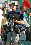 European Press Agency's Erik Lesser using the Think Tank Photo Modular Skin Set and the Black Rapid RSD2BB system during Sony Open Tennis at Key Biscayne on Saturday, March 23, 2013.