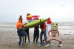 Harlem Shake on Bettystown Beach...(Photo credit should read NEWSFILE)...