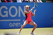 June 16th 2017, Nottingham, England;WTA Aegon Nottingham Open Tennis Tournament day 7;  Johanna Konta of Great Britain in action; Konta won 6-3, 7-5 to reach the semi finals