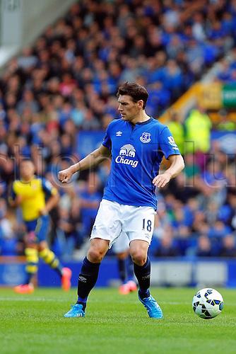 23.08.2014.  Liverpool, England. Premier League. Everton versus Arsenal. Everton midfielder Gareth Barry profile