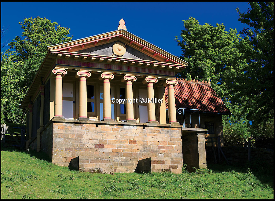 BNPS.co.uk (01202 558833)<br /> Pic: LandmarkTrust/BNPS<br /> <br /> The Pigsty, in, North Yorkshire. <br /> <br /> Fully booked...Holidays less ordinary spark a booking frenzy in Brits.<br /> <br /> A charity which rents out historic buildings around Britain is celebrating a boom in business that has seen some of its properties booked out years in advance.<br /> <br /> The Landmark Trust has transformed almost 200 of the country's quirkiest buildings - from medieval castles to Tudor towers and even a former pig sty - into unique holiday homes.<br /> <br /> And they have become so popular with Brits looking for unusual places to escape to that some buildings are fully booked until 2016.<br /> <br /> Top of the most popular properties are Luttrell's Tower, a Georgian folly near Southampton, Hants, and Astley Castle, a Saxon stronghold dating back to the 12th century in Nuneaton, Warks.<br /> <br /> Other favourites include a Victorian pigsty near Whitby, North Yorks, which was built in the style of a Greek temple, and the London townhouse of 20th century poet John Betjeman.<br /> <br /> The buildings have become such a hit among holidaymakers that they are willing to fork out thousands of pounds to stay in them.<br /> <br /> While prices start at 10 pounds a night for cosy cottages in winter, a seven-night stay at the most popular properties in the height of summer can cost up to 3,000 pounds.<br /> <br /> But the fees are then ploughed back into the upkeep and restoration of the properties.